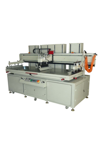Large electric high precision vertical flat screen printing machine