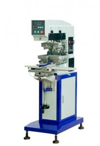 SYC-200-150 气动左右穿梭双色移印机